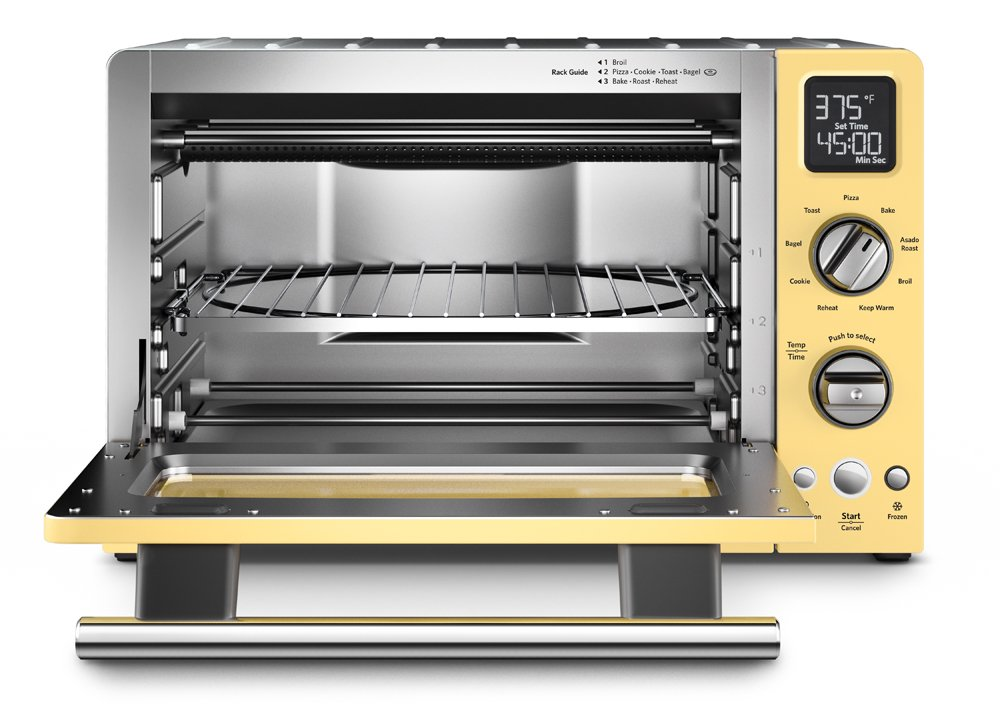 Amazon.com: KitchenAid KCO275MY Convection 1800 Watt Digital Countertop Oven,  12 Inch, Majestic Yellow: Kitchen U0026 Dining