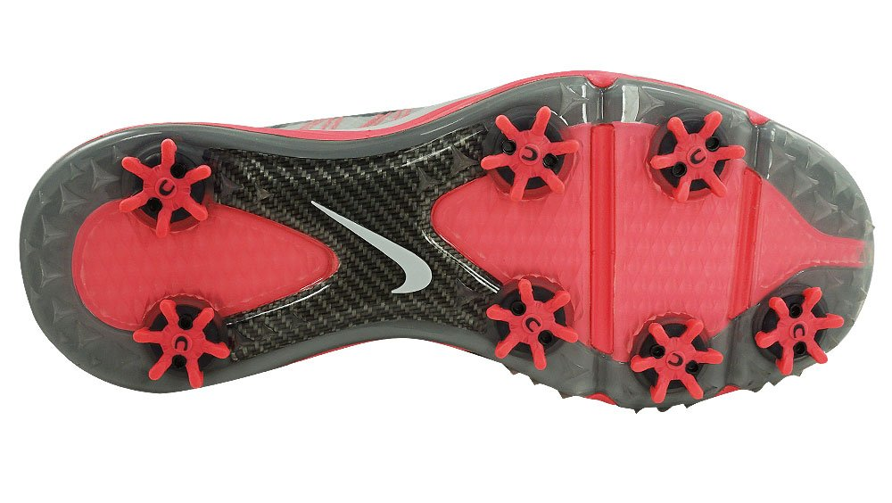 Nike Women's Lunar Control Golf Shoes (7, Pure Platinum/Pink Pow/Charcoal) by NIKE (Image #3)