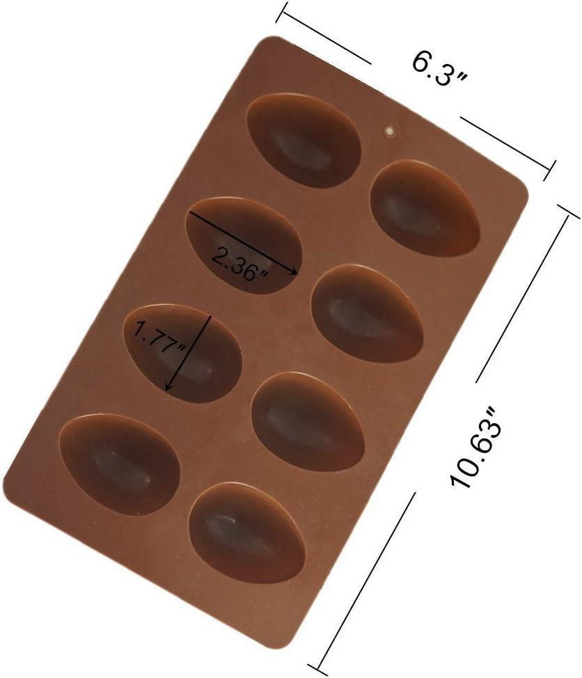 moule /à gla/çons Moule en silicone anti-adh/ésif en forme d/œuf de P/âques pour g/âteau chocolat pudding moule en silicone moule /à p/âtisserie moule /à gla/çons