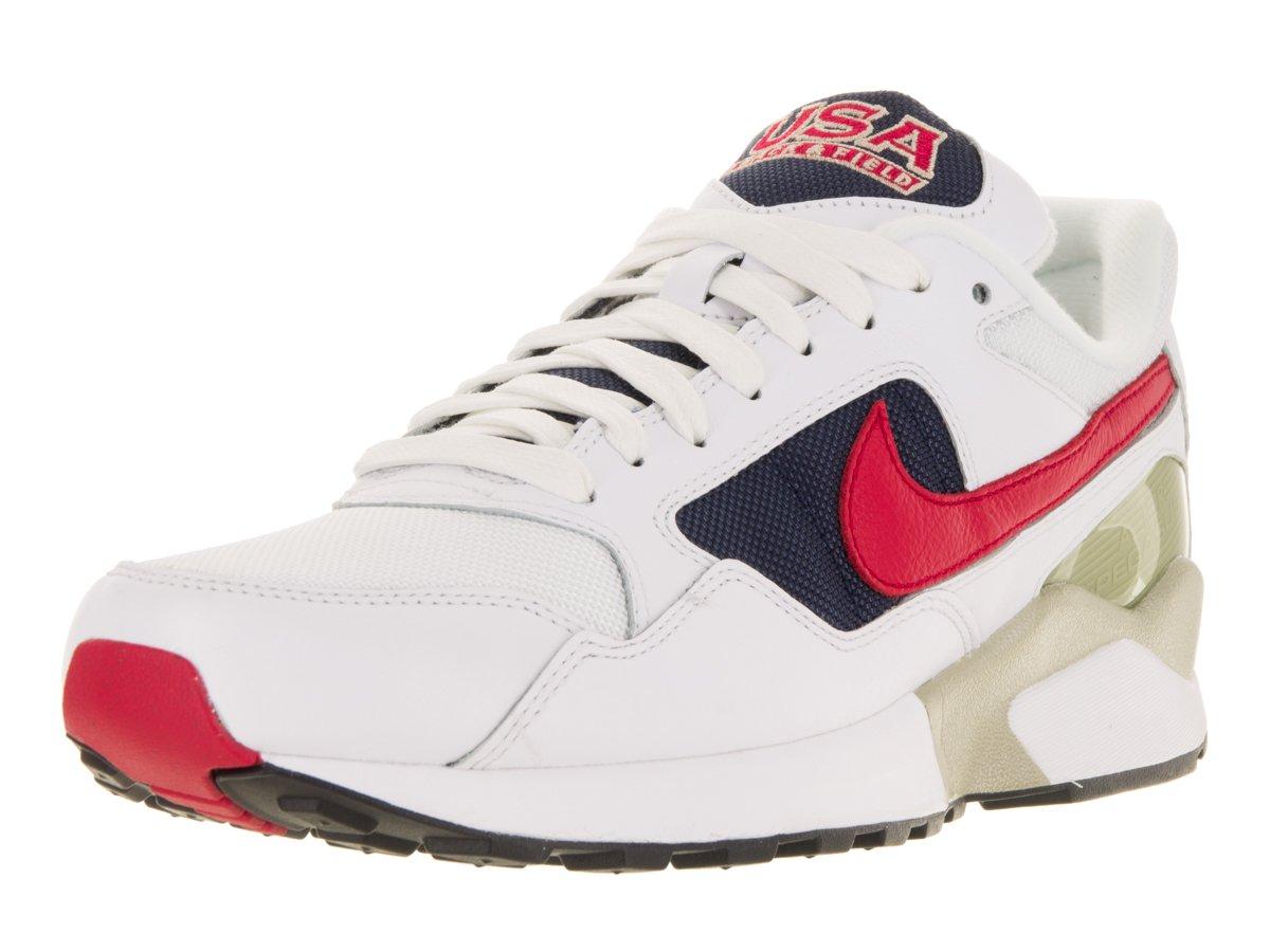 Nike Herren 844964-100 Fitnessschuhe, Weiszlig;, 9 M US  46 EU|Verschiedene Farben (White / University Red-midnight Navy)