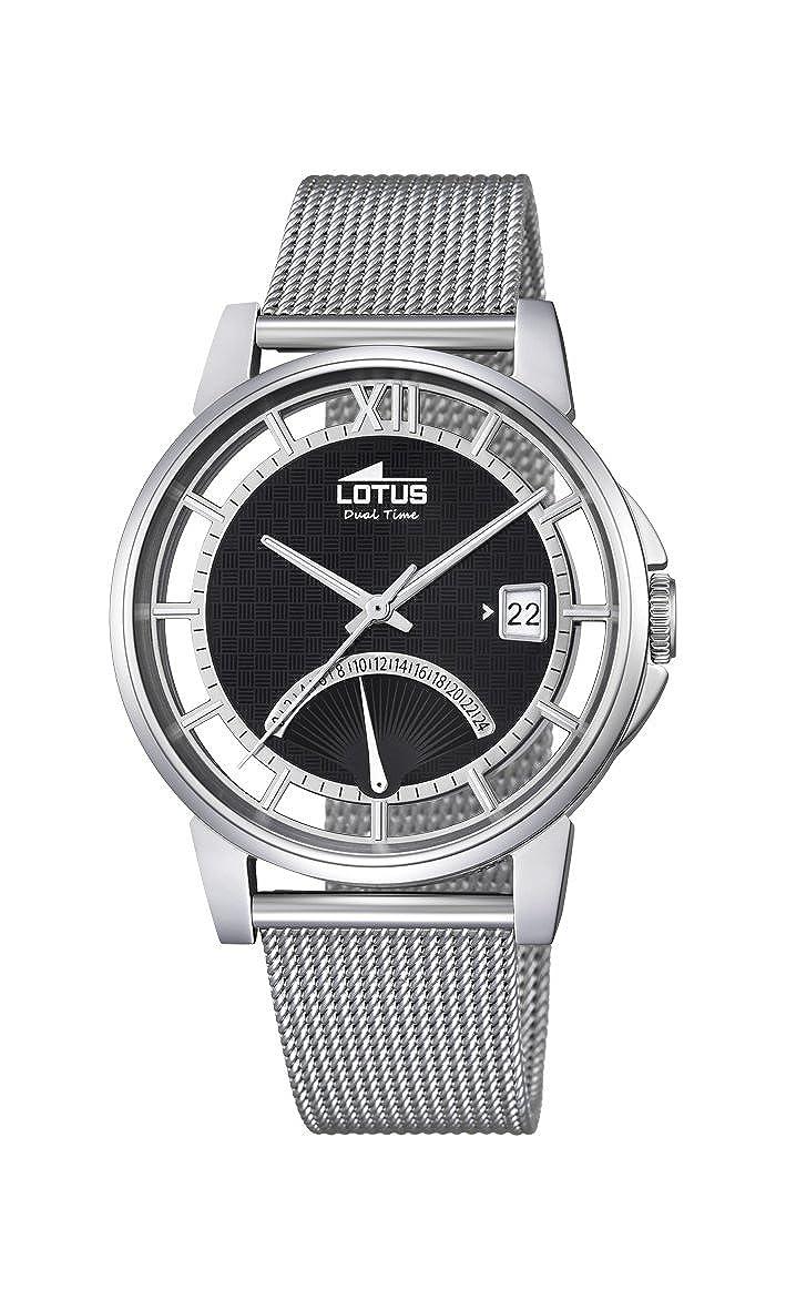 Lotus Reloj Hombre de Analogico con Correa en Chapado en Acero Inoxidable 18326/2