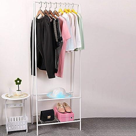 Amazon.com: PIKAqiu33 - Perchero de ropa plegable y sencillo ...