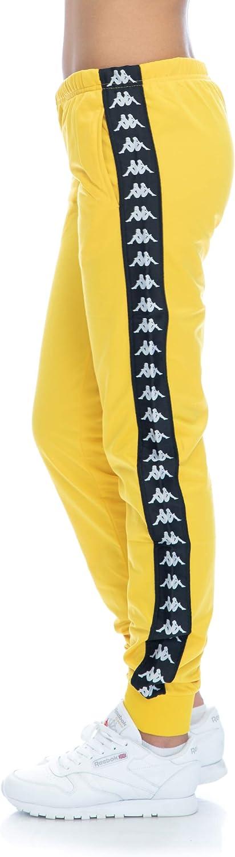 Kappa Pantalones 222 Banda Wrastoria Slim Amarillo Negro Xl Amazon Es Ropa Y Accesorios