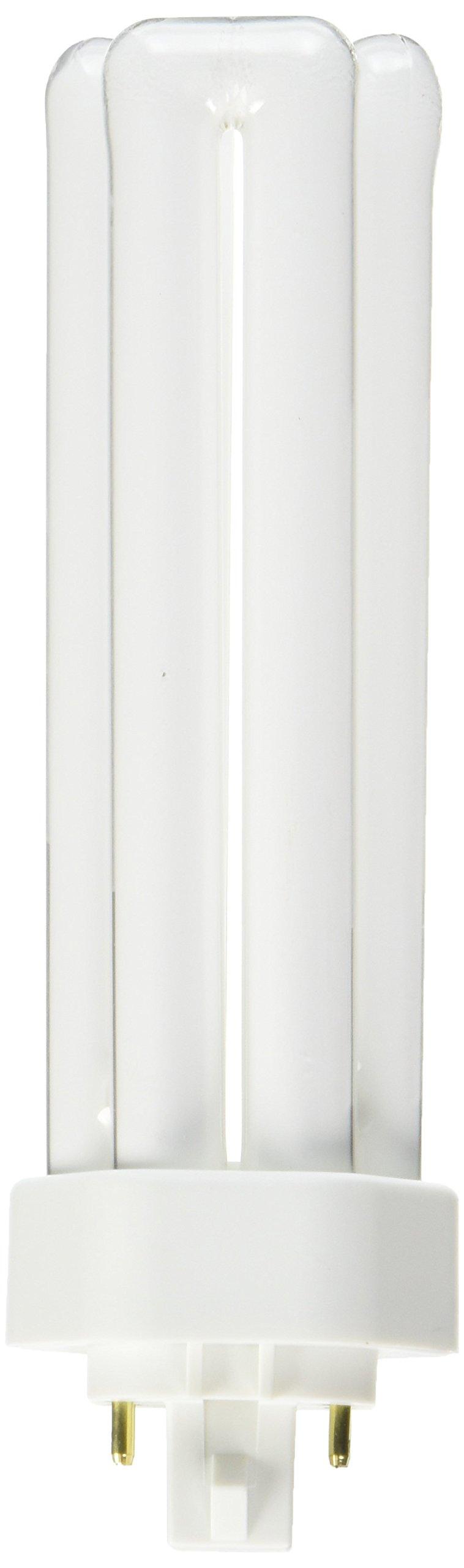 Sylvania FBA_S6755 10 Pack 20871 CF42DT/E/IN/835/ECO 42-Watt 3500K 4-Pin Triple Tube Compact Fluorescent Lamp, White