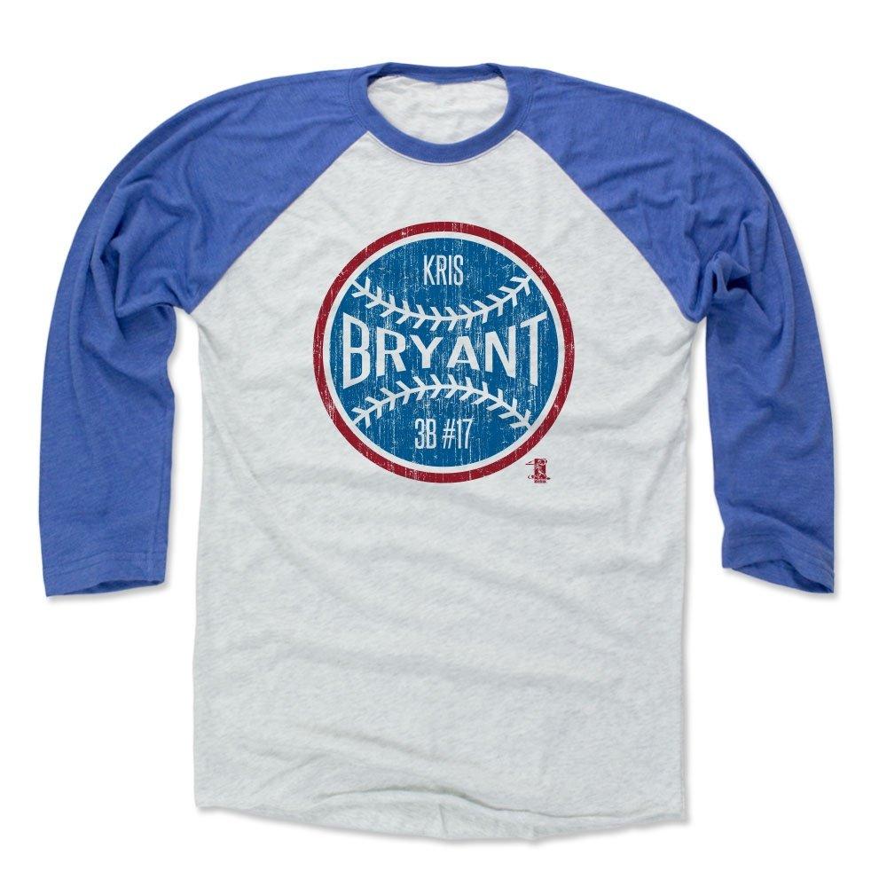 格安 500レベル's Kris Bryant 3/ 4th Baseball/ Tee Tee – BryantボールB シカゴ野球ファンギア – Kris BryantボールB X-Large Royal/ Ash B01M7TCPT7, プラザ オンライン:7793723e --- vezam.lt