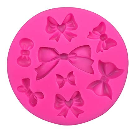 Bowknot Shape fondant cake silicone mold for polymer clay molds kitchen baking chocolate pastry candy Clay