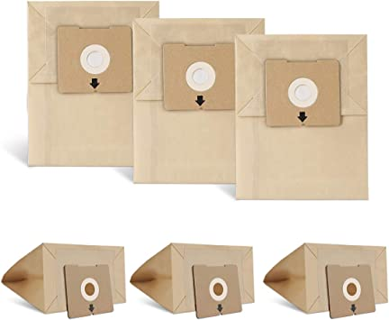 OEM Bissell Type 2138425 Vacuum Bags  4122 Zing Canister Vac 6pk