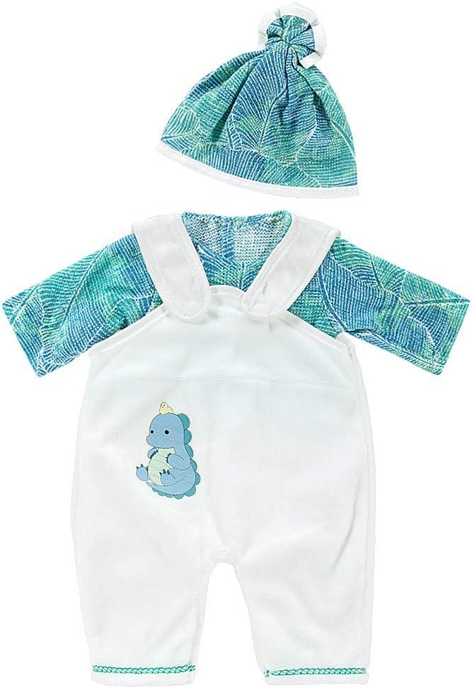 ZOEON Ropa de Muñecas para New Born Baby Doll, Trajes con Sombrero para 18