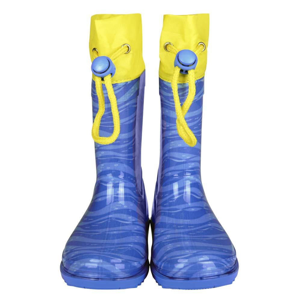 Dory Bailey Destiny Bleu Jaune Nemo Bottes Impermeables Disney Trouver Doris avec Semelle antid/érapante et fermetura /à Coulisse Perletti Bottines de Pluie Pixar Le Monde de Dory pour Enfant