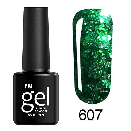 2019 Nueva ML clavo Shining UV Gel Polaco remojo de Nail Art ...
