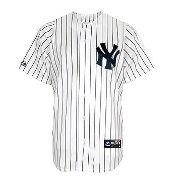 d2b8c34b0e4 New York Yankees Replica Home Jersey Small  Amazon.co.uk  Sports ...