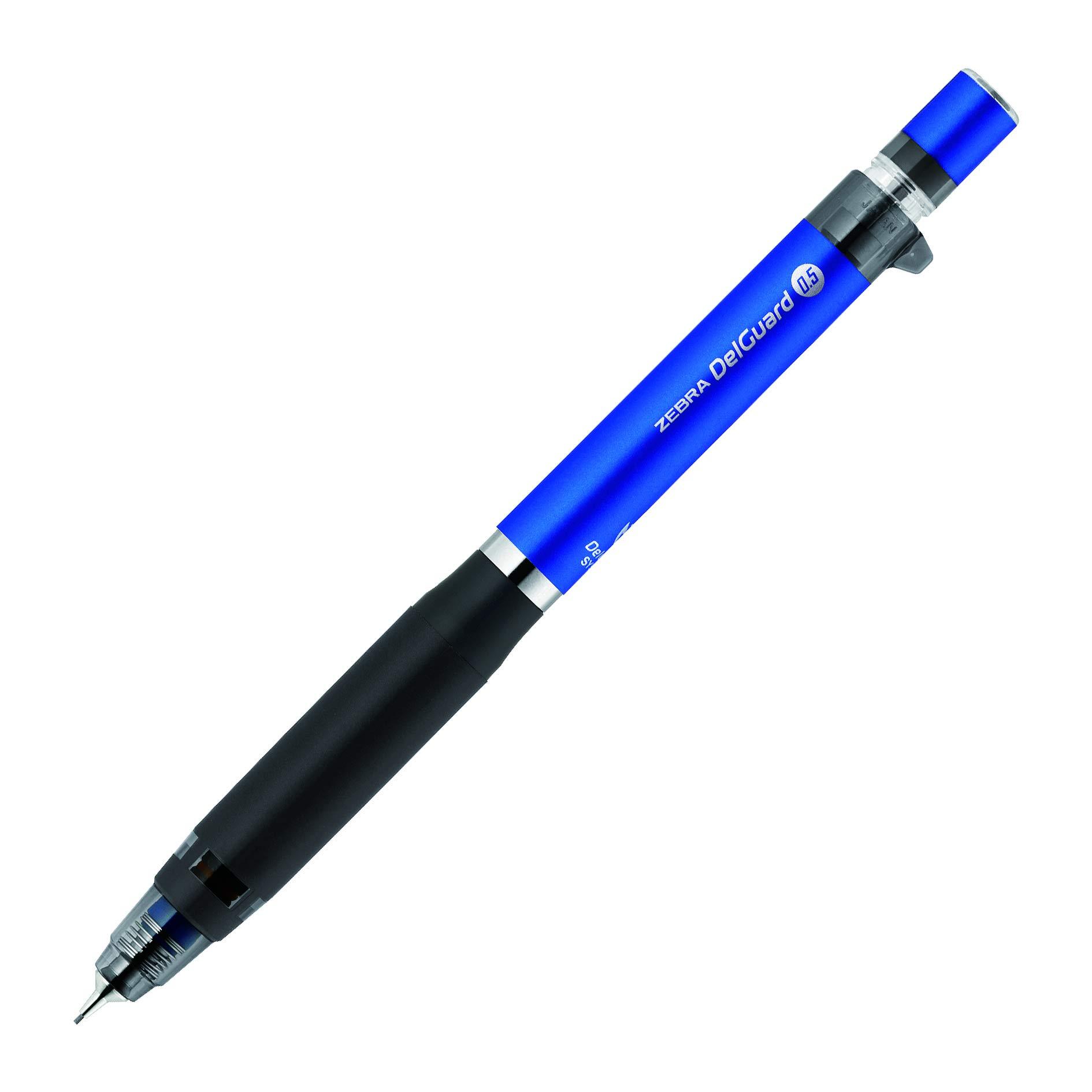 Zebra - Portaminas tipo ER, 0,5 mm, color azul (PMA88-BL)
