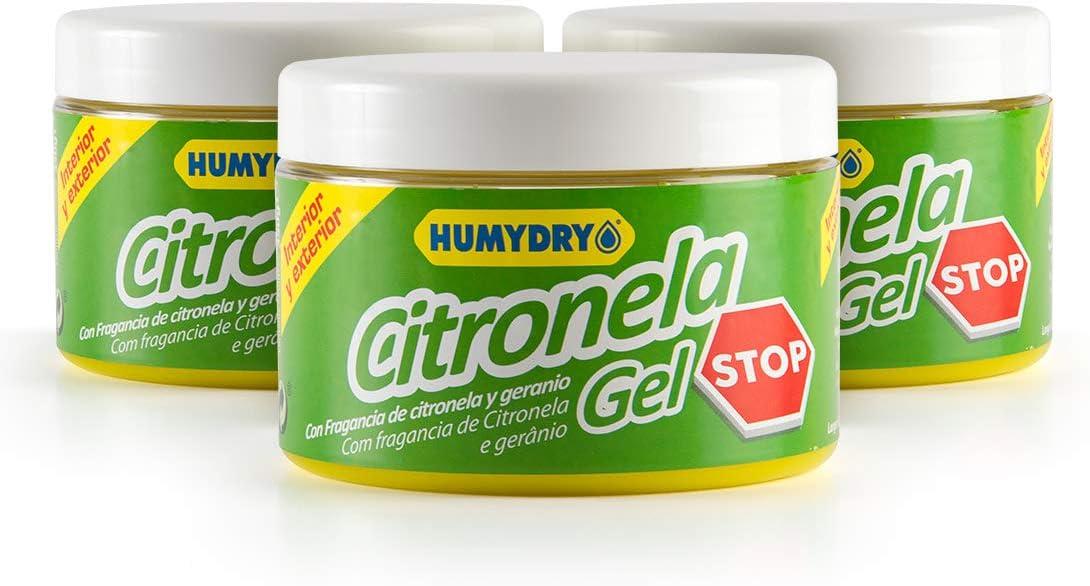 Lote HUMYDRY 3 Ambientadores Citronela STOP