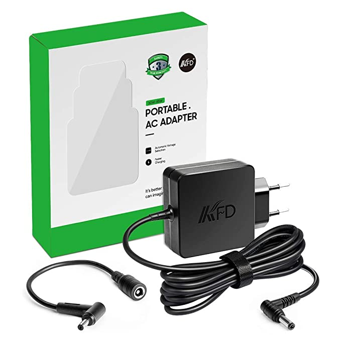 KFD 45W Adaptador Alimentador Cargador portátil para Asus AD890026 010LF UX301 UX305f PHILIPS Grafik Monitor 276E9QJAB F202E VivoBook S13 S330UA X551M ...
