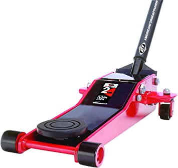 AFF 202T 2 Ton Low Profile Floor Jack with 2 Piece Handle