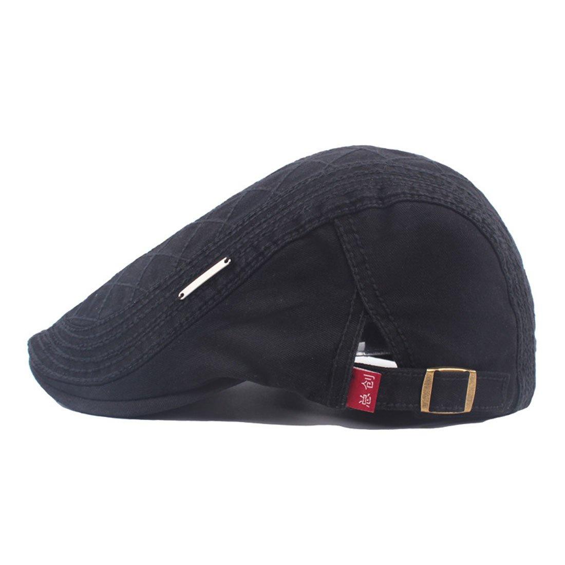 King Star Mens Cotton Ivy Gatsby Newsboy Driving Hat Flat Cap