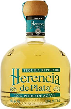 Tequila reposado 100% agave Herencia de Plata: Amazon.es
