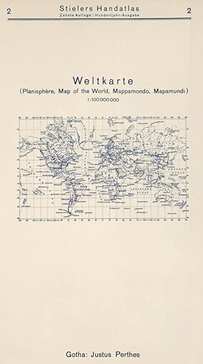 Amazon 1925 world atlas index map 2 weltkarte map of the 1925 world atlas index map 2 weltkarte map of the world gumiabroncs Image collections