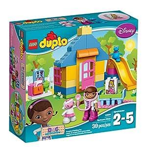 LEGO DUPLO Disney Doc McStuffins Backyard Clinic 10606, Preschool, Pre-Kindergarten Large Building Block Toys for Toddlers