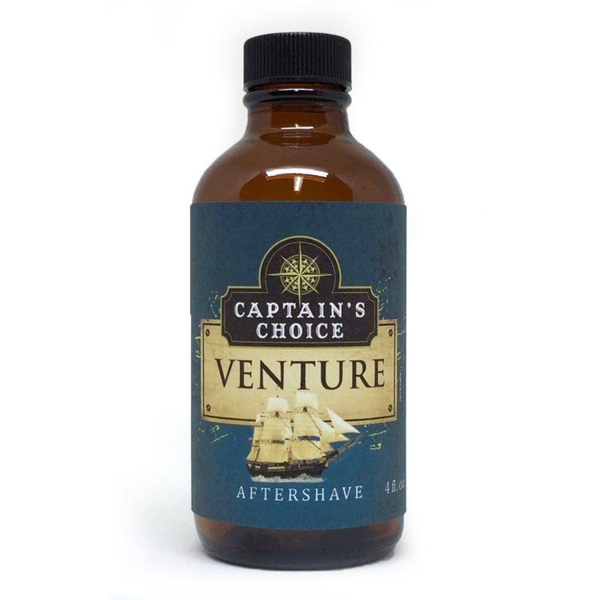 Captain's Choice VENTURE Aftershave - 4 oz. Captain' s Choice