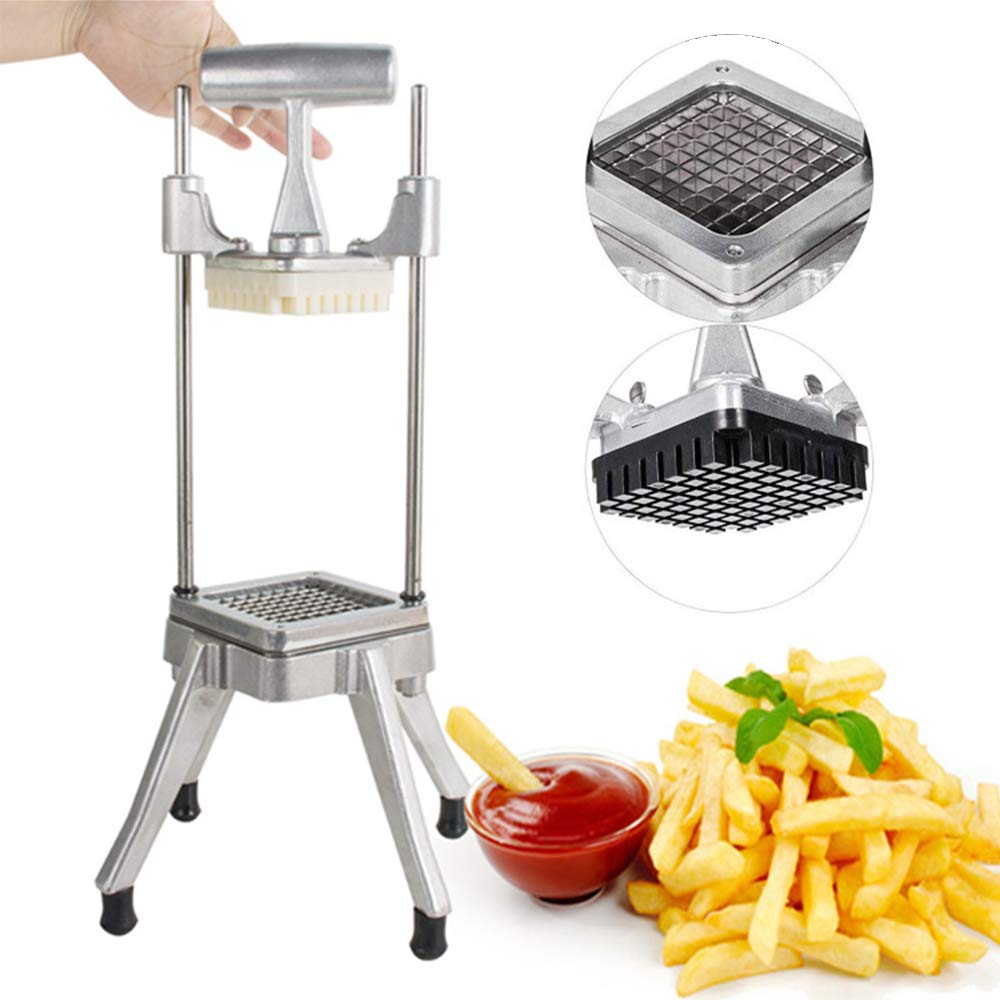 Stainless Steel Restaurant Commercial Potato Vegetable Fruit Dicer Onion Tomato Slicer Chopper Peppers,Potatoes,Mushrooms Professional Quick Slicer Machine 3-5 Days Delivery by Zinnor