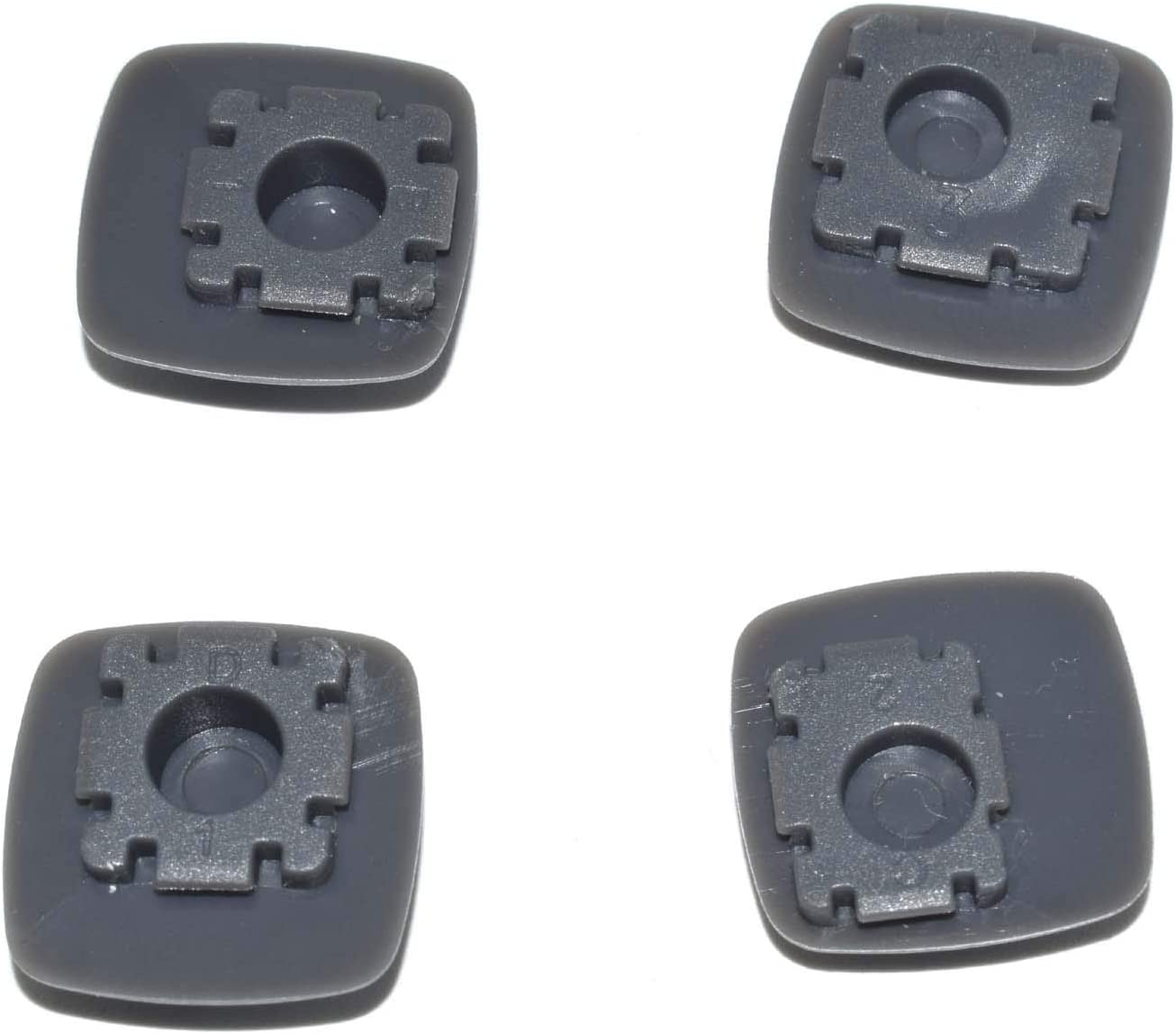 4PCS New Laptop Parts for Lenovo IdeaPad U310 Bottom Cover Rubber Foot Feet Pad Gray Color