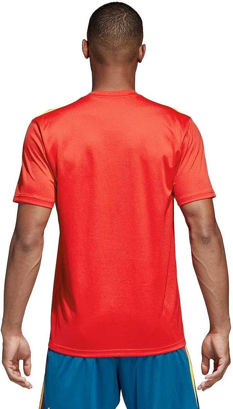 adidas Fef H JSY Camiseta Selección, Hombre: Amazon.es: Ropa y accesorios
