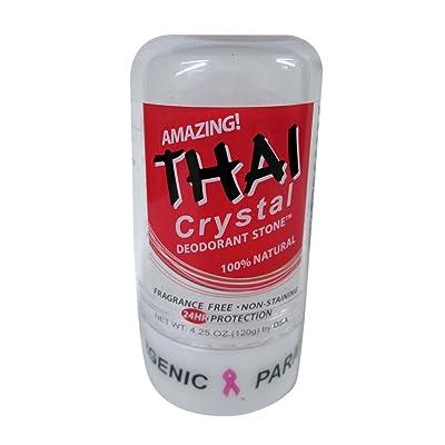 Deodorant Stones of America: Thai Crystal Deodorant, 4.25 oz