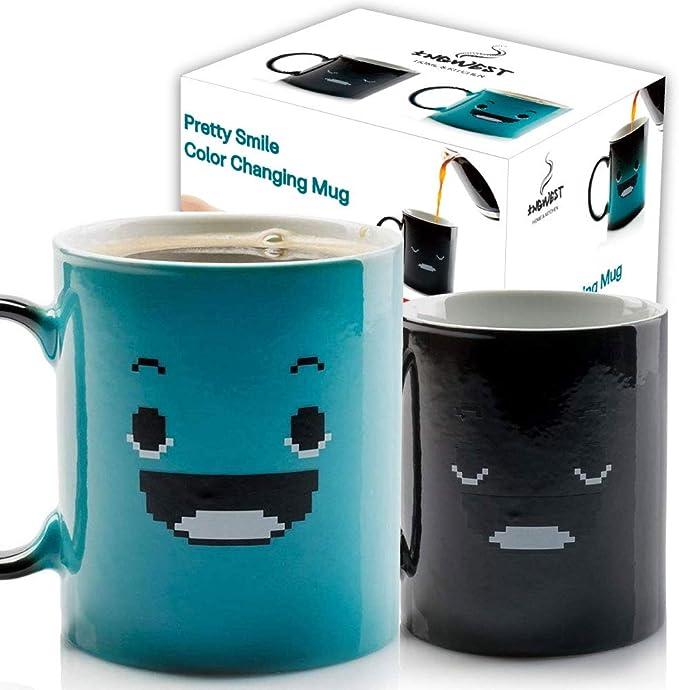 Funny Mugs Morning Gorgeous Joke Gift Christmas COLOUR CHANGING NOVELTY MUG