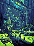 """Futurama Limited Edition Silkscreen """"You Guys Realize You Live in a Sewer, Right?"""" by Dan Mumford 18"""" x 24"""""""