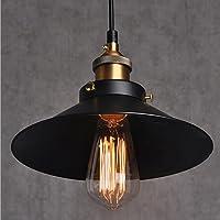 Métal Retro Suspension Luminaire Industrielle Vintage Plafonnier Lustre Edison Culot E27 Eclairage de Plafond Suspension Plafonnier Luminaire