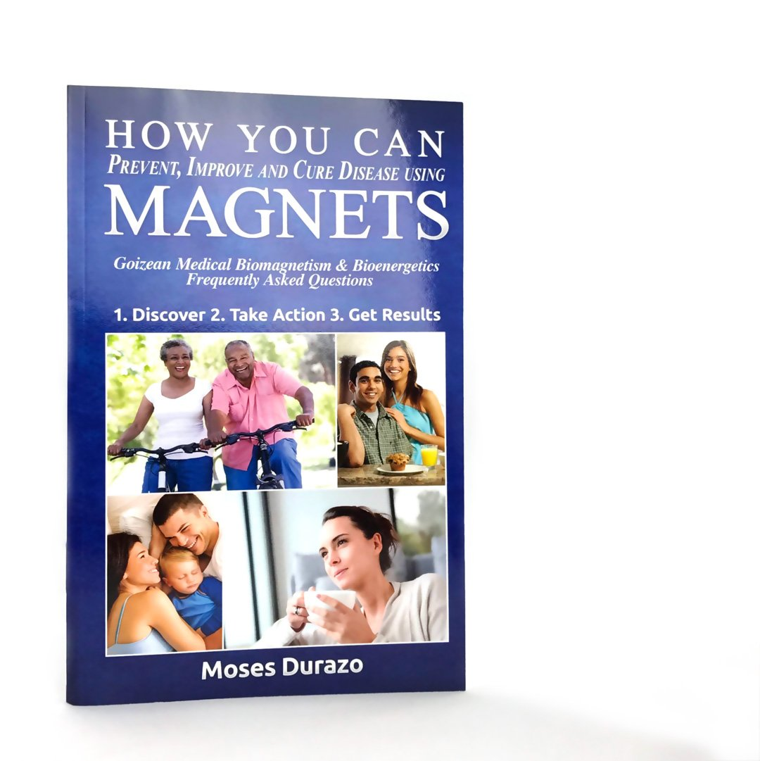 ULTIMATE Biomagnetic Therapy, 3 Books and 10 Magnets (count) for Pain Relief, Detoxification, Boost Immune System & Mental Wellness, Durazo Medical Health Magnets with Instructions by Super Stars (Image #5)