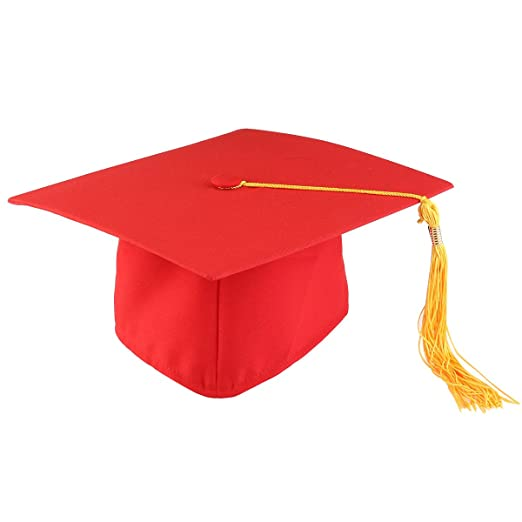 amazon com tinksky graduation cap hat adjustable adults student