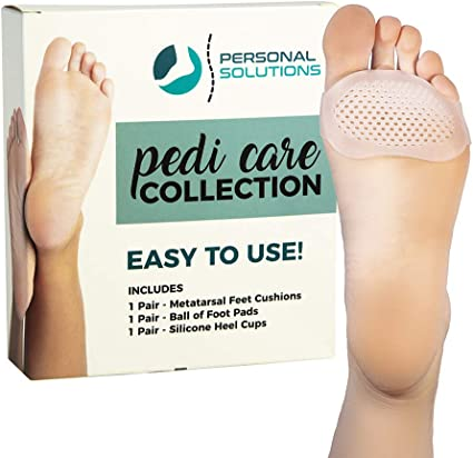 1Pair Feet Heel Pain Relief Plantar Fasciitis Insole Run-up Pad Feet Sole Care !