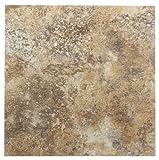 Kitchen Floor Tile Achim Home Furnishings FTVMA42320 Nexus 12-Inch Vinyl Tile, Marble Granite, 20-Pack