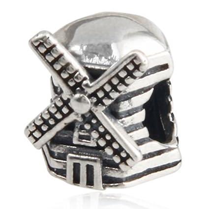 1d22aa927 ... ireland amoony 925 sterling silver beads windmill charms fit pandora  bracelet b9214 97018