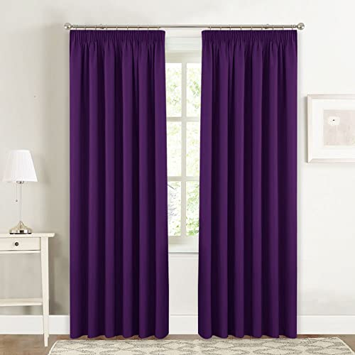 Purple Curtain Amazon Co Uk
