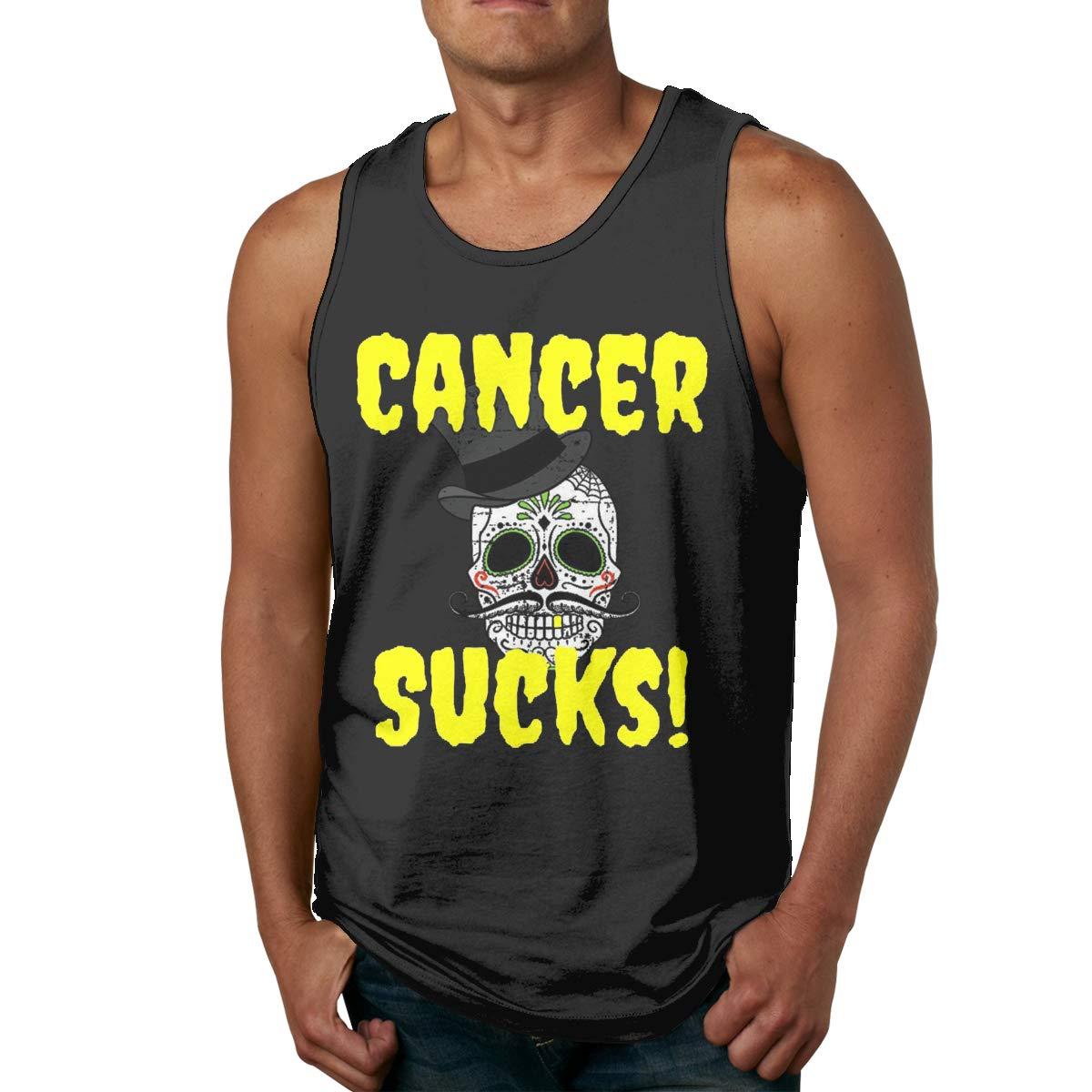 Vanmass Cancer Sucks8 Sleeveless Tank Top T Shirt 7156