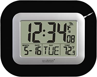 Amazon Com Timex 75322t Atomic Clock With Date Day Of