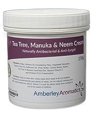 Tea Tree, Manuka & Neem Cream 250g - Antibacterial & Anti-fungal Skin Cream