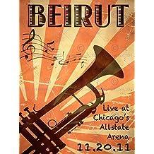 MUSIC CONCERT ADVERT BEIRUT CHICAGO TRUMPET BRASS USA 30x40 cms ART POSTER PRINT PICTURE CC6477