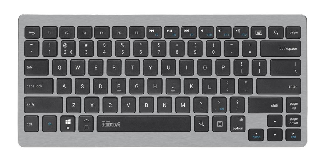 Trust Entea Universal Wireless Tastatur QWERTZ für: Amazon