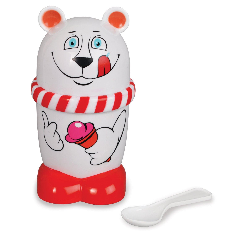 Geospace Ice Cream Mugz Slushy Maker - Polar Bear