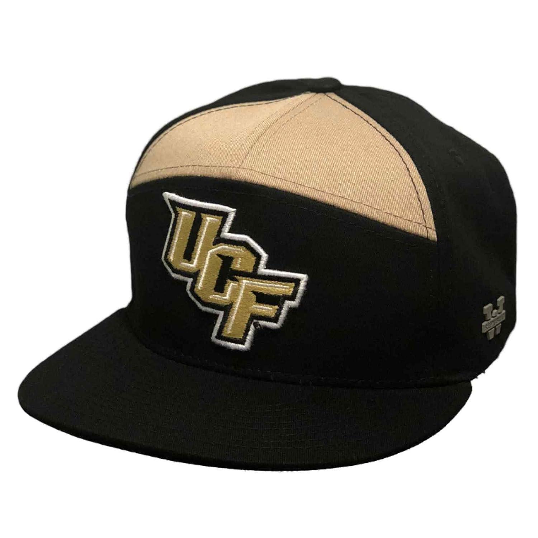 University of Central Florida UCF Knights NCAA 7 Panel Flat Bill Snapback Baseball  Cap Hat at Amazon Men s Clothing store  a342d4bb29c
