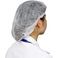 Delleu 100 Piezas Desechables Bouffant Caps Anti Polvo