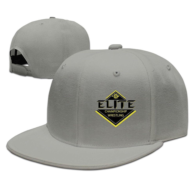HNN Unisex Championships Wresting Logo Flat Baseball Caps Hats