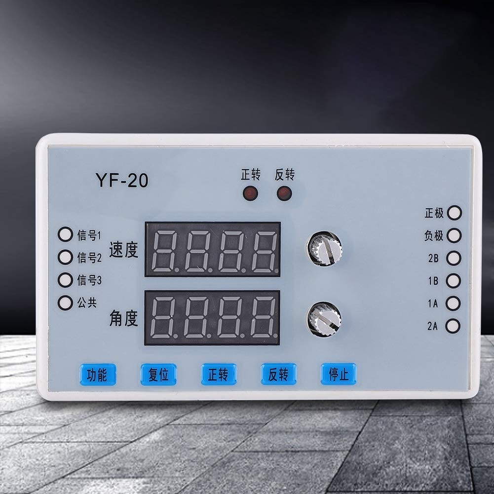 Electrical Motor Controls Motor Speed Controller Driver Control Module 7-30V DC Stepper Motor Speed Controller with Digital Display