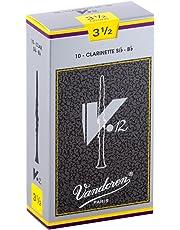 Vandoren RE2343.5 V-12 Bb Clarinet Reeds, Box of 10-3-1/2 Strength