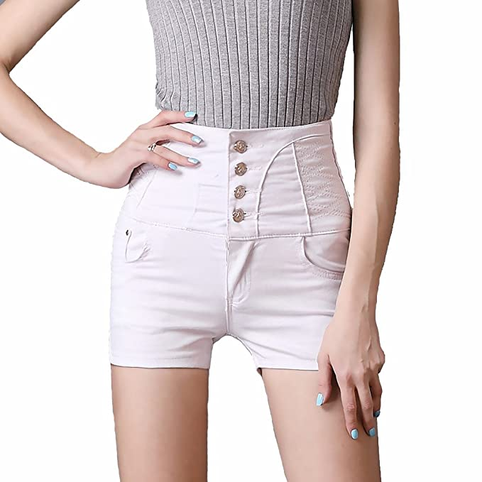 7618a71099cad TieNew Mujer Casual Jean Shorts