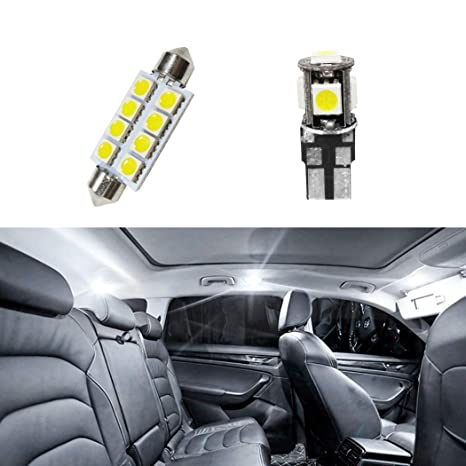 Amazon Com For Chevrolet Aveo Car Interior Light Bulbs Led